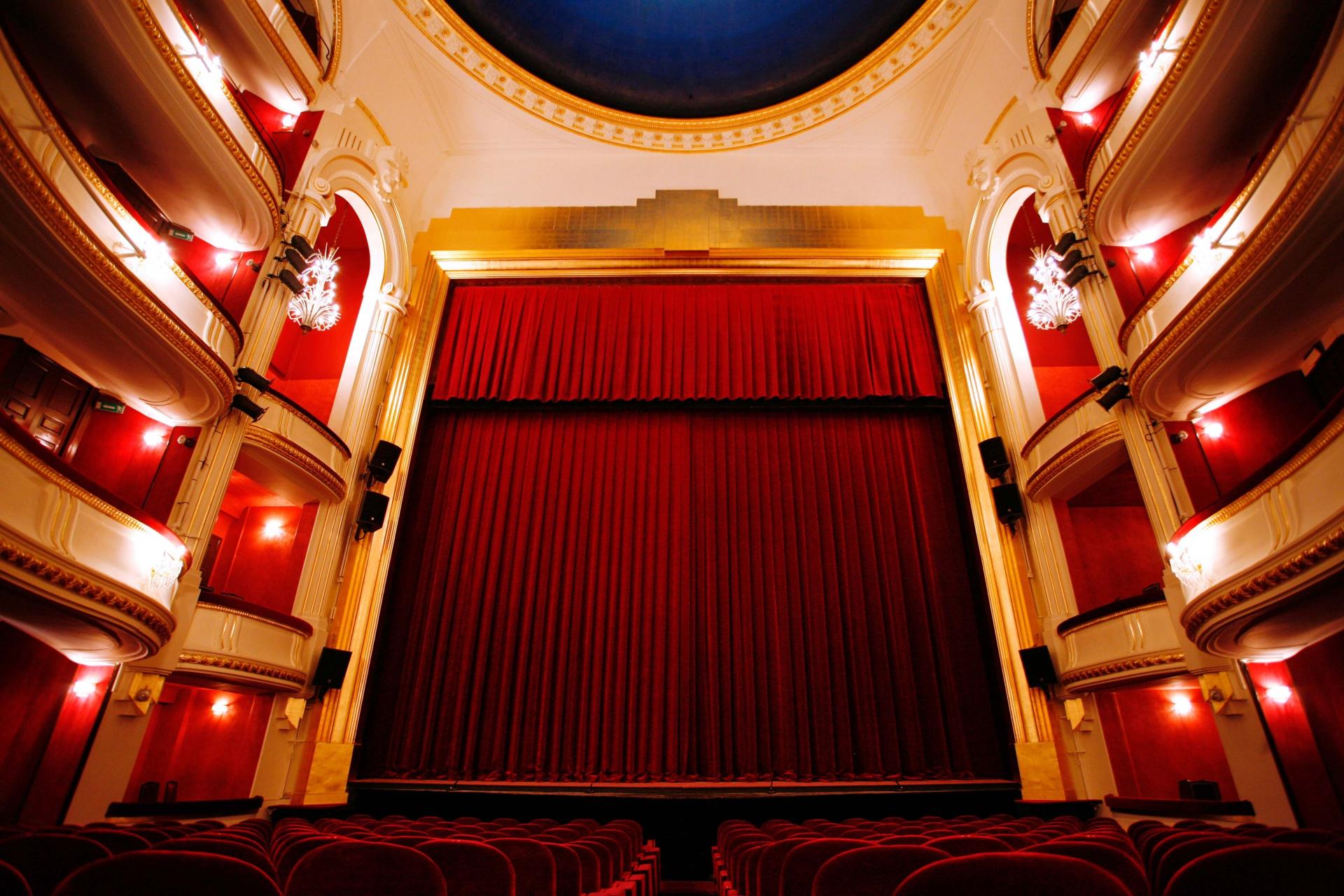 Visite Guidee Du Theatre De La Porte Saint Martin