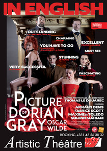 The picture of Dorian Gray, théâtre Artistic Théâtre