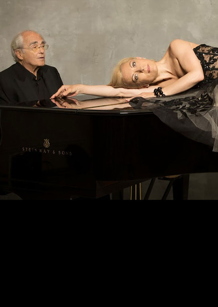 Michel Legrand & Natalie Dessay. Between yesterday and tomorrow. au Théâtre des Champs-Elysées
