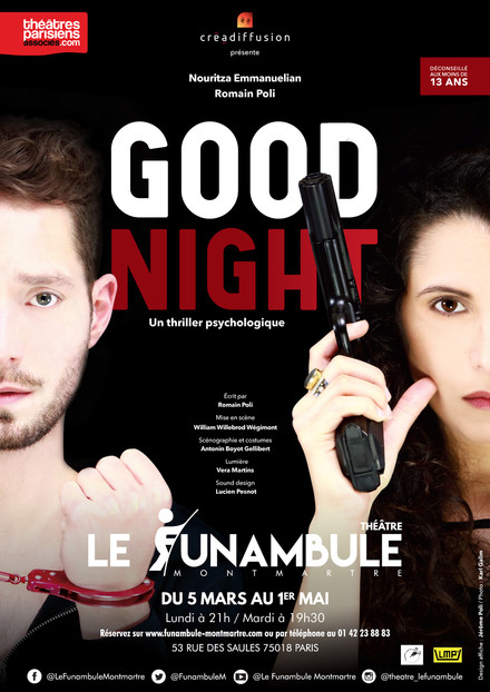 Good Night au Théâtre du Funambule