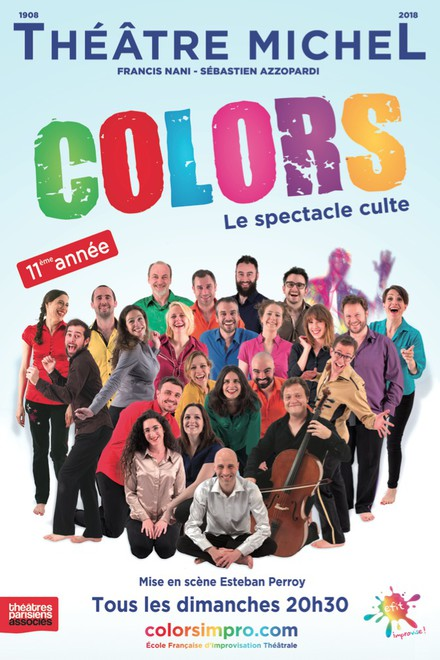 COLORS : le spectacle culte au Théâtre Michel