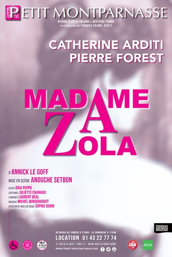 Spectacle Madame Zola