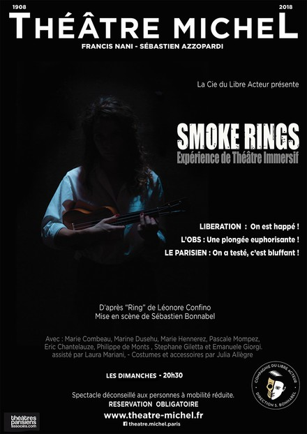 Smoke Rings au Théâtre Michel