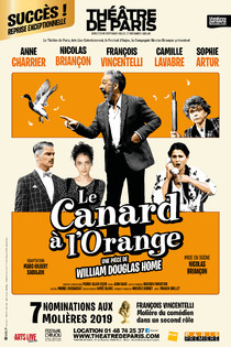 Le canard à l'orange, Théâtre de Paris