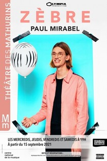 "Paul Mirabel ""Zèbre"""