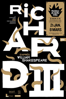 Richard III d'après William Shakespeare, Théâtre de Belleville