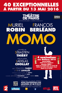 Momo - ANNULATION DU SPECTACLE, Théâtre de Paris