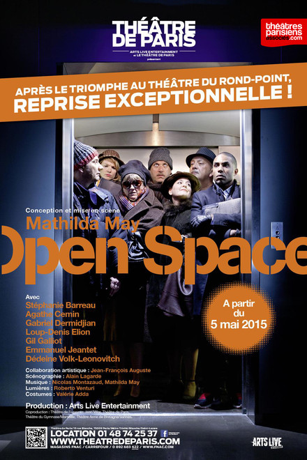 Open Space au Théâtre de Paris