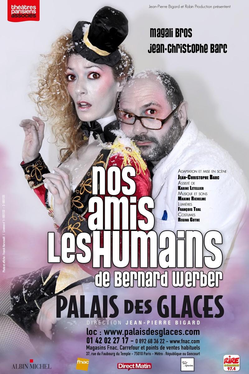 Nos amis les humains au Palais des Glaces - Archive 22.09.2016