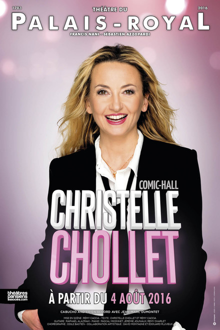 Christelle Chollet - Comic Hall au Théâtre du Palais Royal