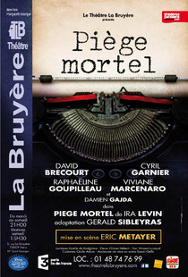 Cyril garnier biographie spectacles films th tre et photos - Theatre de la bruyere ...