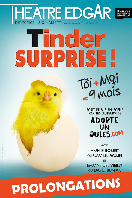 Tinder surprise ! au Théâtre Edgar